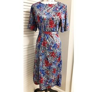 Vintage Anthony Richards Floral Dress 14